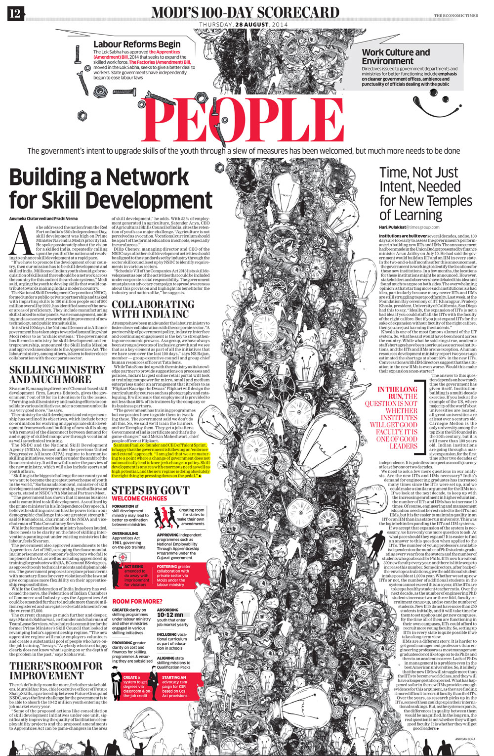 Building a Network for Skill Development