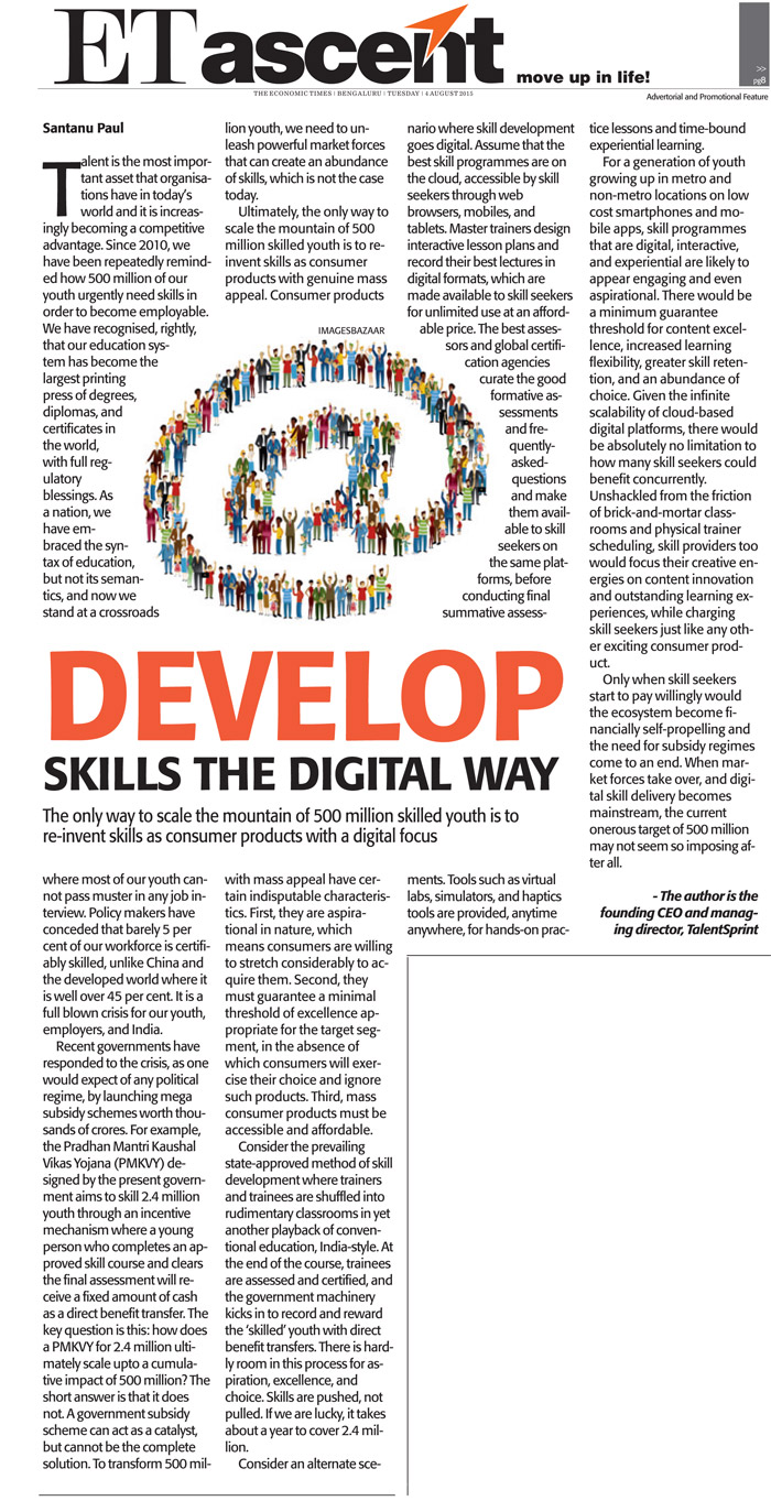 Develop Skills the Digital Way