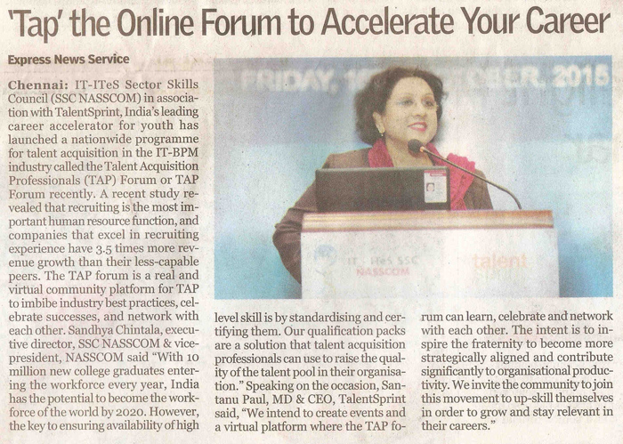 TAP the online Forum to Accelerate Your Career