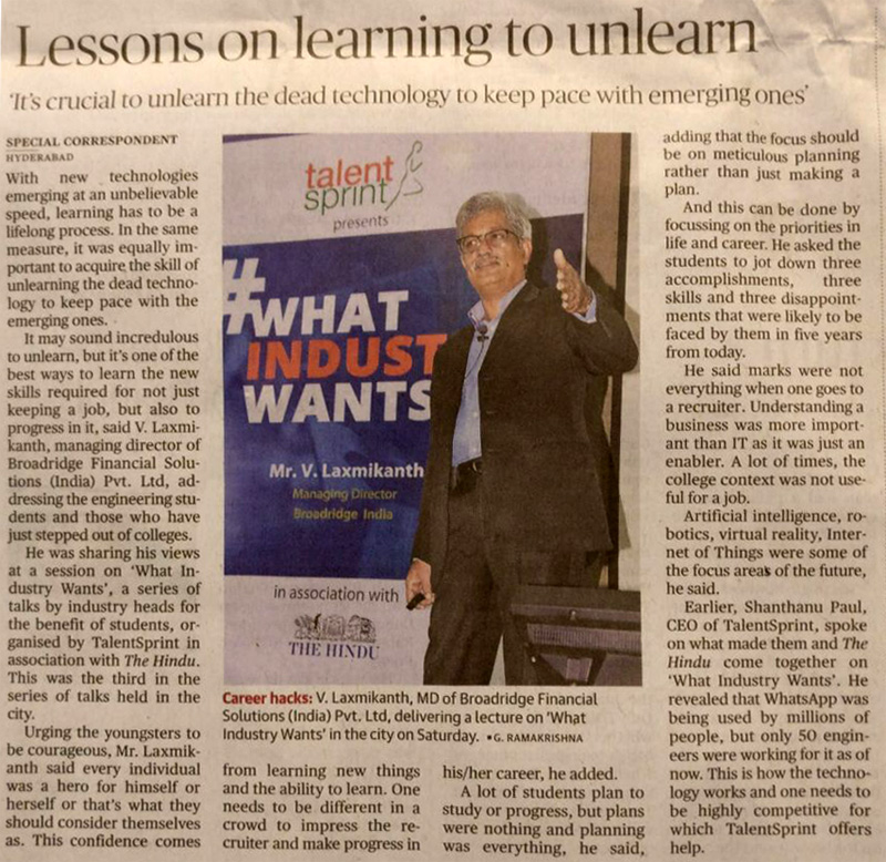 Lessons on Learning to unlearn