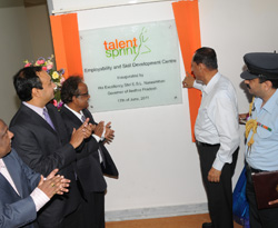 governer inaugurating the TS building