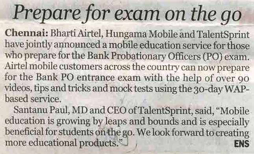 Bank Exam coaching now on Mobile