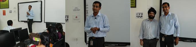 Mr. Arijit Sarker talks on 'Internet 2.0: The India story'