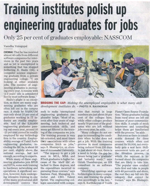 Article in Hindu, software testing_Talent-Sprint_06.07.2011_The-Hindu.jpg